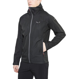 SALEWA Puez Aqua 3 Powertex Chaqueta Hombre, black out
